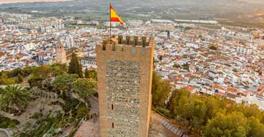Nerja to Velez Malaga taxi prices