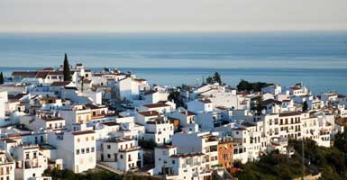 Taxi prices from Nerja to Frijiliana