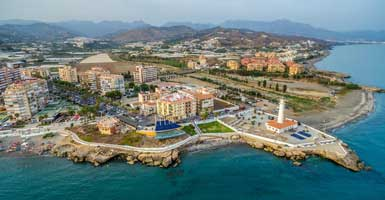 Taxi transfer to Torrox from Nerja
