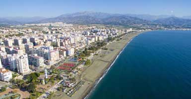 The cheapest Nerja to Torre del Mar taxi prices