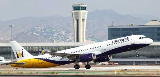 en taxi nerja con control de vuelos