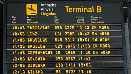 De Nerja al Aeropuerto de Málaga en taxi