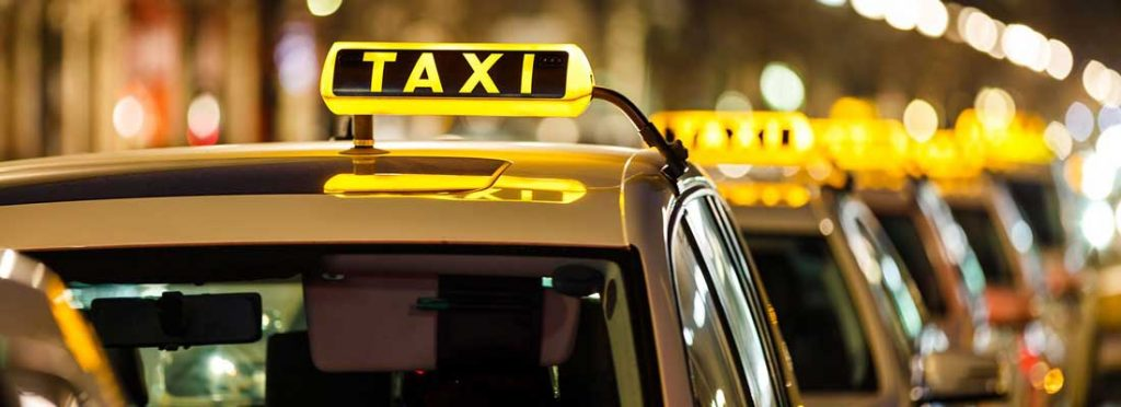 radio taxi and nerja stops