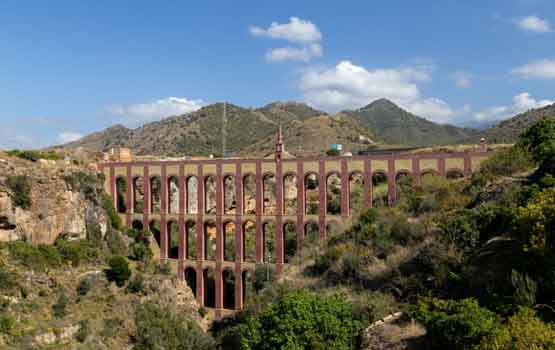Visit the Eagle Aqueduct on the Costa del Sol - Spain